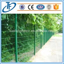 Système de cloisons 2D soudé de haute qualité clôture à double clôture clôture de sécurité