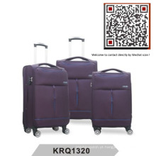 Aircraft Wheels EVA Big Handle Soft Nylon Trolley Luggage (KRQ1320)