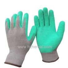 Gants en coton Gants en coton au latex Gant de travail de sécurité