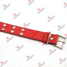 Мода заклепки кожаная собака Collor с простой пряжкой Оптовая (PC15121408)