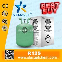 Agente refrigerante HFC125 R125 limpo
