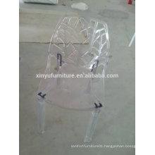 Modern Net Type Clear PP Chair XYN2749