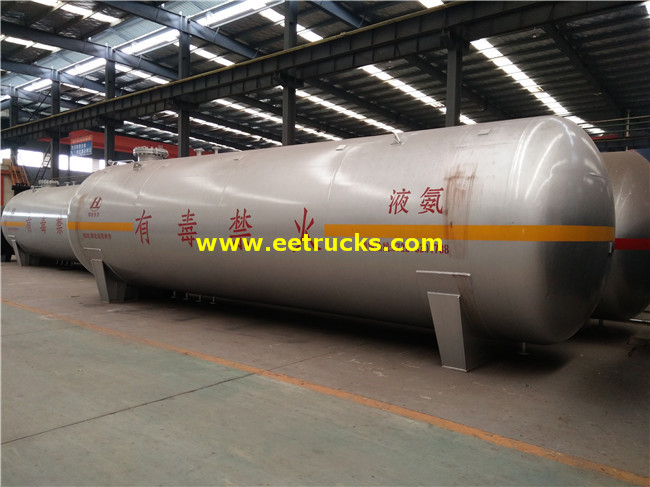 Anhydrous Ammonia Storage Bullet