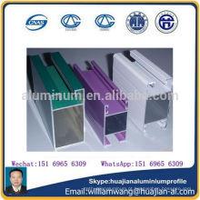 Perfil de alumínio de alta qualidade para janelas e portas