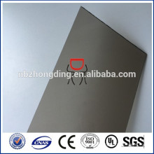 6mm bronze frosted polycarbonate sheet