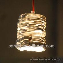 Lámparas de techo creativas hechas a mano de la decoración casera superior de la decoración
