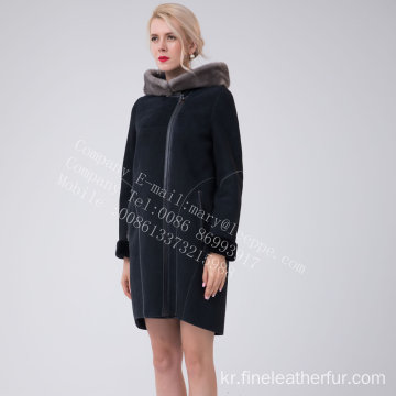 스페인 메리노 Shearling Jacket for Women
