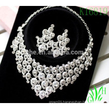 Europe and the United States high-grade sets of rhinestone 2016 necklace sets