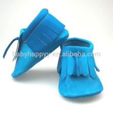 Pretty Kids niño zapatos de cuero de bebé mocasín