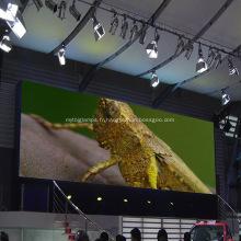 La publicité a incurvé les grands écrans menés menés