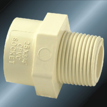 DIN PN16 Water Supply Cpvc Male Socket Gray