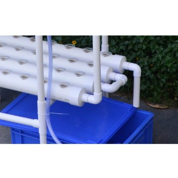 12 Pipes  Hydroponics PVC NFT Growing System