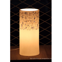 Lámpara de mesa moderna de cerámica con estilo