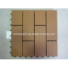 300*300мм деревянные листы пластиковой основе легко ДПК блокируя плитка