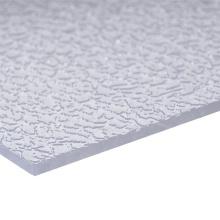 Hoja de acrílico Hoja compacta Hoja sólida Hoja de policarbonato Hoja de relieve