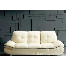 Imitação de couro 100% poliéster tecido de camurça para capas de móveis