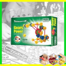 Пластмассовая дошкольная образовательная игрушка DIY для детей