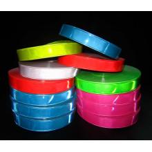 Fita de advertência de PVC de alta visibilidade em cores sortidas