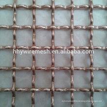 verzinktes gewebtes Gewebe gekräuselte Netzverriegelung Arten gewebter Drahtsieb gekräuselter Drahtgeflecht