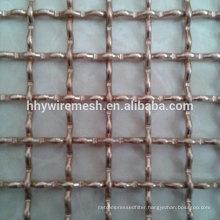 galvanized woven mesh crimped net lock types woven wire screen crimped wire mesh