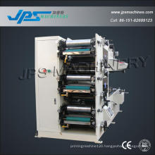 Auto Three Colour Printing Machine with One UV