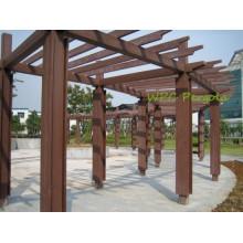 Preços compostos exteriores do decking dos caramanchões WPC do mandril da decoração do pátio