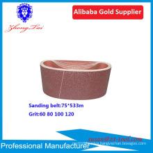 wet & dry abrasive sanding belt