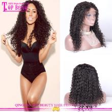 Natürliche kurze Afro Perücken für schwarze Frauen künstlichen brasilianische lockige Echthaar Perücken heißer Verkauf lockigen Afro Perücken für schwarze Frauen