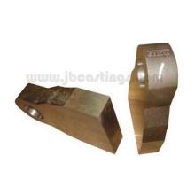 Piezas de fundición de inversión de acero pesado para máquinas