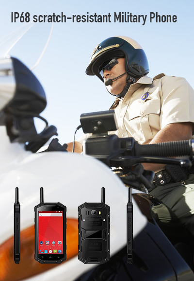 IP68 scratch-resistant Military Phone