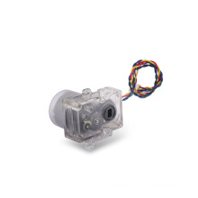 Bi-direction Metal Brush DC Motor 3V Mini Motor de engranaje para medidor de agua (KM-36F1-500)
