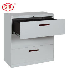 Knockdown metal 3 drawers filing cabinets for office