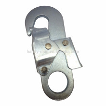 Equipamento de proteção industrial Aço Double Action Snap Hook