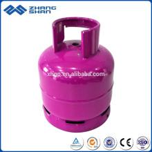 Accueil utilisé de petites bouteilles de gaz GPL 3 kg à vendre