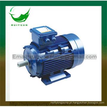 Ce aprovou 4 motor elétrico assíncrono trifásico da série de Pólos 0.55kw Y2