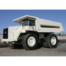 Camion à benne basculante pour l'extraction du charbon