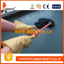 Light Yellow Latex Household Gloves DHL312