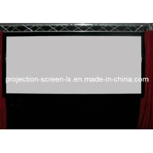 Tela de tela de projeção de PVC (LX-T-002)