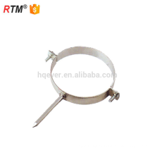 a17 3 abrazadera del tubo de clip de fijación de cable abrazadera de tubo redondo abrazadera de tubo en forma de p amortiguada de goma