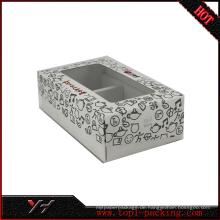 2017 neue design tee verpackung Transparente kunststoff klar PVC box