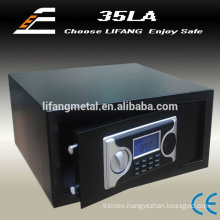 Small home safe locker,hotel safe,electronic safe box with LCD time display
