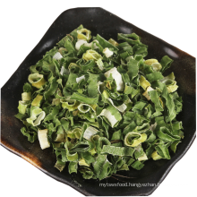 Freeze dried spring green onion cut dried vegetables foods