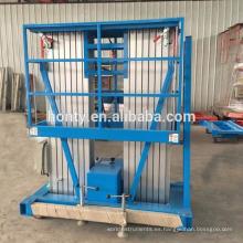 Elevador hidráulico móvil de 15m 20m para pintar contenedor de muebles de lavado de autos