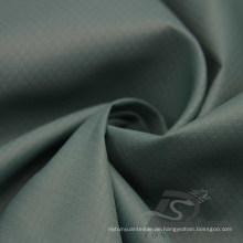 Wasser & Wind-resistent Outdoor Sportswear Daunenjacke Woven Plaid & Peacock DOT Jacquard 100% Nylon Fabric (N042)