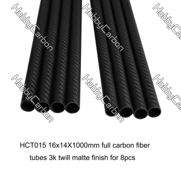 Carbon Fiber Tube Cutting en Carbon Clamps