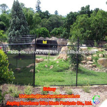 Plain weave hot-dipped galvanized zoo fencing