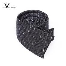 Corbata tejida impresa digital por encargo de la tejer del telar jacquar de los hombres