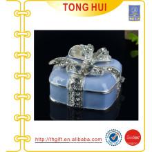 Different color choice Silver Square Jewel box