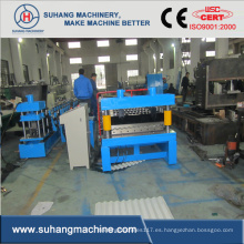 Máquina de fabricación de hoja de hierro acanalada del tejado de la construcción completamente automática de la calidad
