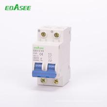 6KA DC MCB for solar 500v